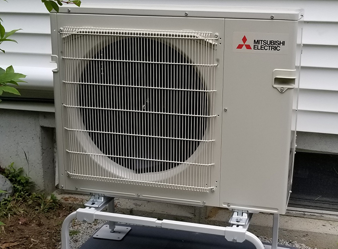 Dual Zone Mitsubishi heat pump and cooling 1